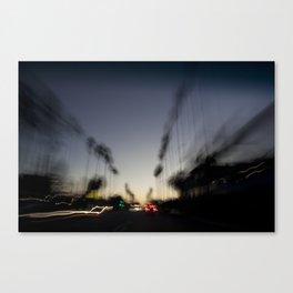 Venice Beach Sunset Canvas Print