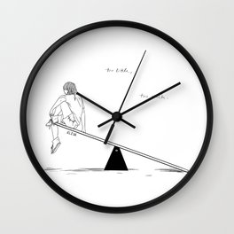 Too Little, Too Much Wall Clock