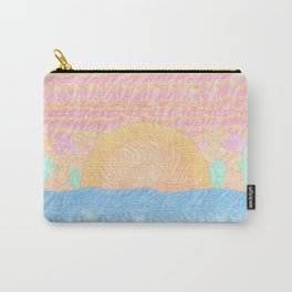 Sun Waves Carry-All Pouch