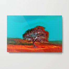Tree Painting Metal Print