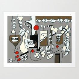 ENGINEERING Art Print