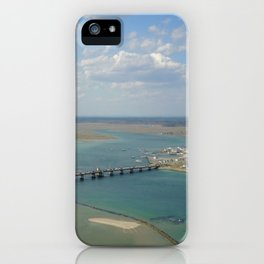 Bridge To Hampton iPhone Case