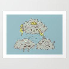 Rain of Terror Art Print