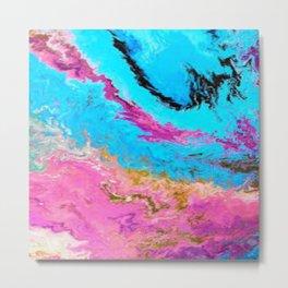 Abstract Oil 1 Metal Print