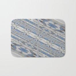 Slanted Blue Corridor Bath Mat