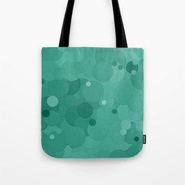 Lucite Green Bubble Dot Color Accent Tote Bag
