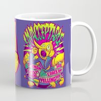 lemongrab Mugs featuring LEMONGRAB: UNACCEPTABLE by BeastWreck