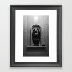 Stone Angel Framed Art Print