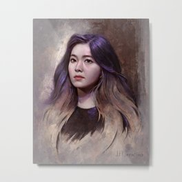 Irene of Red Velvet Metal Print