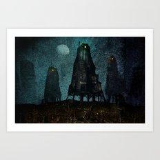 Walkers Art Print
