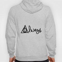 Always, Deathly Hallows, Harry Potter Hoody