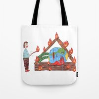 Mundinho - Burn Tote Bag