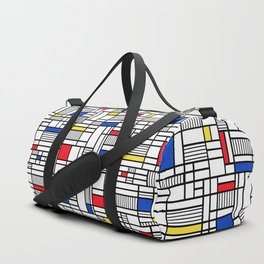 Map Lines Mond Duffle Bag