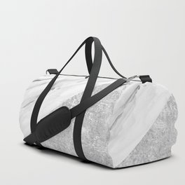 White Marble Edition 2 Duffle Bag