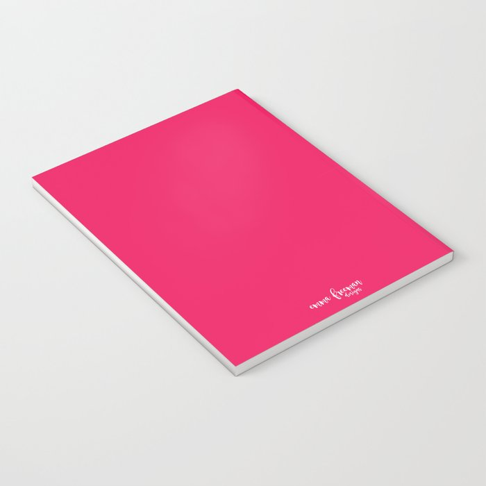 Colorful Pink and Orange Birds Notebook