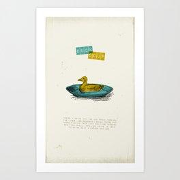 Duck Soup Art Print