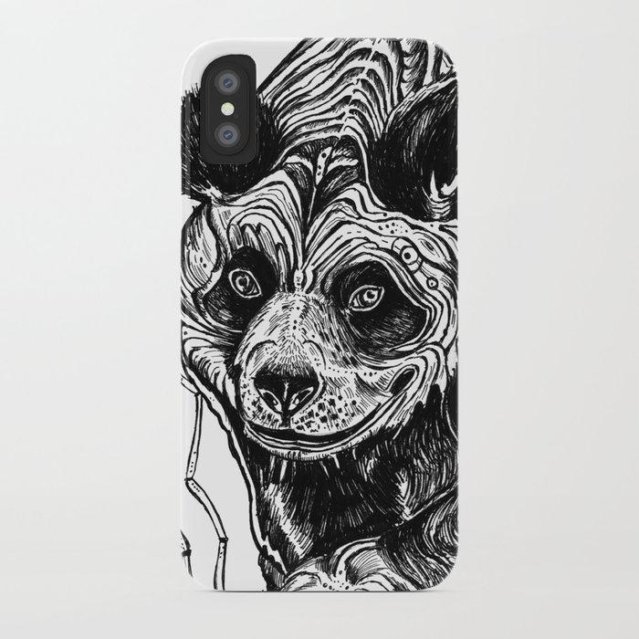 Panda Love iPhone Case