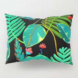 black nigth and color nature Pillow Sham