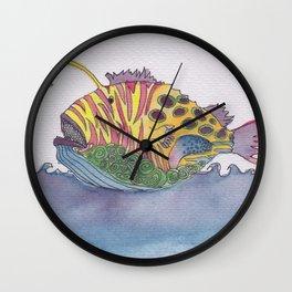 rem fish Wall Clock