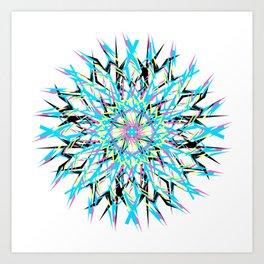 Blitz Art Print