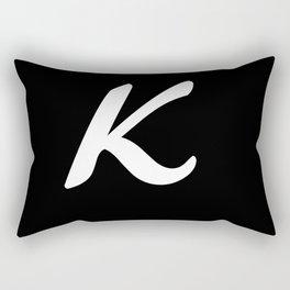 Alphabet ....K Rectangular Pillow