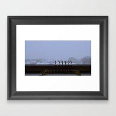Regroup Framed Art Print