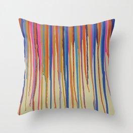 The Drip Throw Pillow
