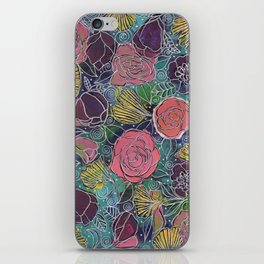 Cabbage Roses iPhone Skin
