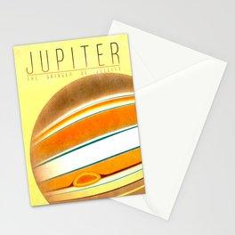 Jupiter - The Bringer of Jollity Stationery Cards