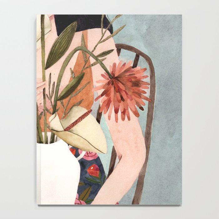 Hilda with vase Notebook