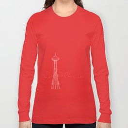 Seattle by Friztin Long Sleeve T-shirt