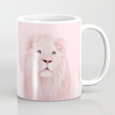 ALBINO LION Mug