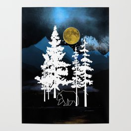 Full Moon Rising II Poster