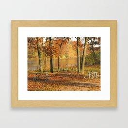 Autumn's End Framed Art Print
