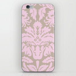 French chic pink iPhone Skin