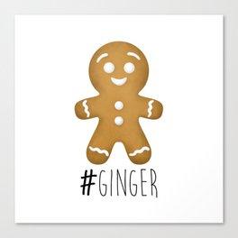 #Ginger Canvas Print
