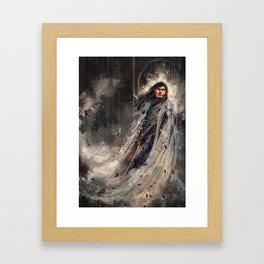 Fingolfin challenges Morgoth Framed Art Print