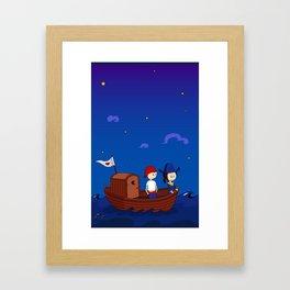Vimacka the pirate Framed Art Print