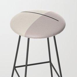 abstract minimal 28 Bar Stool