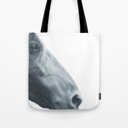 Horse head - fine art print n° 2, nature love, animal lovers, wall decoration, interior design, home Tote Bag