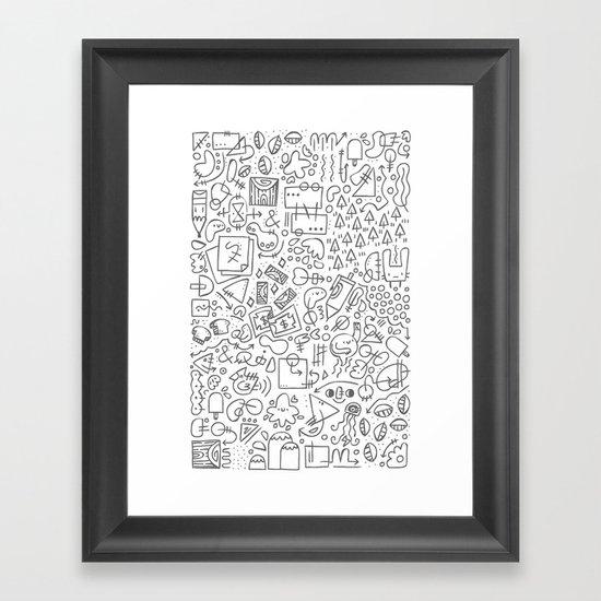 Doodle Do Framed Art Print