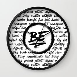 Be... Wall Clock