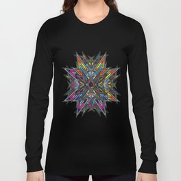 Stained Glass Long Sleeve T-shirt