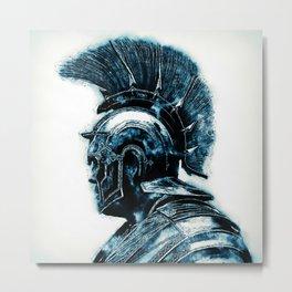 Portrait of a Roman Legionary Metal Print