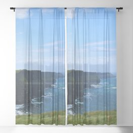 Cliffs of Moher Sheer Curtain