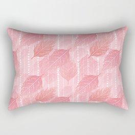 Boho Blush and Beads - Pink Rectangular Pillow