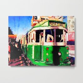 San Francisco F Line Trolly Metal Print