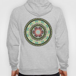 Avocado Yoga Medallion Hoody