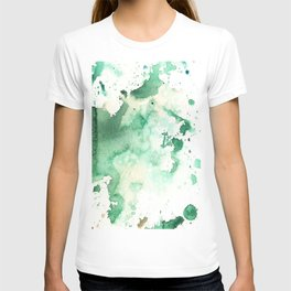 Watercolor abstract many color for greeting card.No.39 T-shirt
