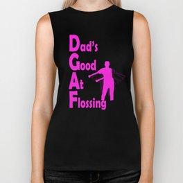 Floss Dance Tshirt for Girls and Boys | Don't Give a Floss Craze Biker Tank